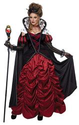 Фото Костюм Мрачная красная королева взрослый