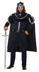 Фото Костюм Чёрный король (большой размер) взрослый