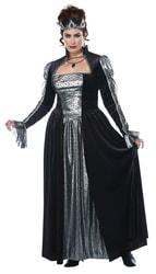 Фото Костюм Чёрная королева (большой размер) взрослый