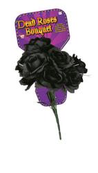 Фото Букет чёрных роз