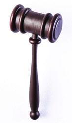 Фото Молоток судьи