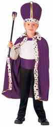 Фото Костюм Король Фиолетовый детский