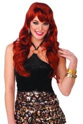 Фото Рыжий парик Красотка женский