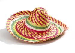 Фото Сомбреро шляпа разноцветная