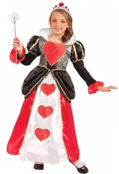 Фото Костюм Красная королева (Алиса в Стране чудес) для девочки