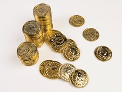 Фото Набор Монеты пирата