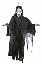 Фото Декорация для Хэллоуина Кричащий призрак 180 см