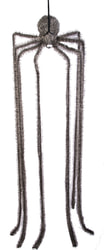 Фото Подвесная декорация Паук с длинными ногами для Хэллоуина (180 см)