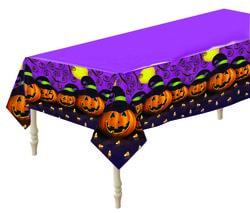 Фото Скатерть для Хэллоуина Тыквы
