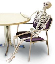 Фото Декорация подвижный Скелет (150 см)
