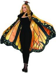Фото Плащ Крылья бабочки Данаиды Монарх