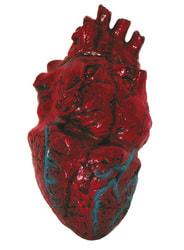 Фото Декорация кровавое сердце