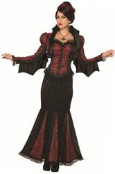 Фото Костюм вампирши Леди тьмы взрослый