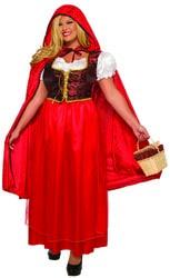 Фото Костюм Красная шапочка (большой размер) взрослый