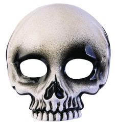Фото Маска Скелет на верхнюю половину лица
