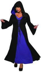 Фото Костюм Ведьма фиолетовая женский (большой размер)