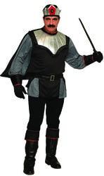 Фото Костюм Тёмный король мужской (большой размер)