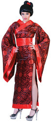Фото Костюм Японка в кимоно взрослый