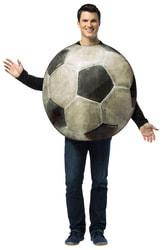 Фото Костюм Футбольный мяч взрослый