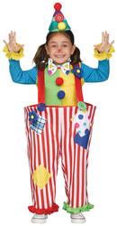 Фото Костюм Клоун в комбинезоне детский