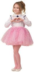 Фото Карнавальная юбка розовая детская