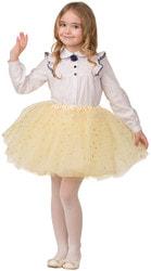 Фото Карнавальная юбка золотистая детская