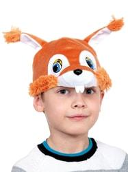 Фото Маска-шапочка Белка детская