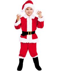 Фото Костюм Санта Клаус в сапогах детский