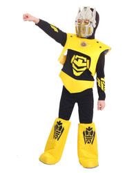 Фото Костюм Робот черно-желтый детский