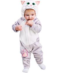 Фото Костюм Кошечка серая для малышей детский
