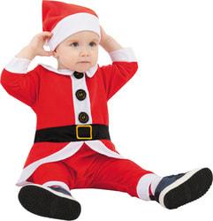 Фото Костюм Санта для малышей детский