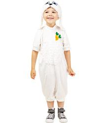 Фото Костюм Зайчик в шапке детский