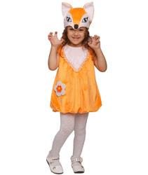 Фото Костюм Лисичка в платье детский