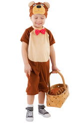 Фото Костюм Медведь в комбинезоне детский