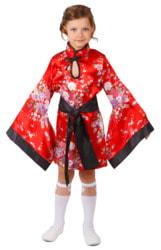 Фото Костюм Китаянка (красный) детский