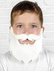 Фото Борода белая поролон