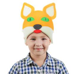Фото Карнавальная шляпа Лиса на резинке