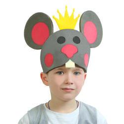 Фото Карнавальная маска Мышиный король на резинке