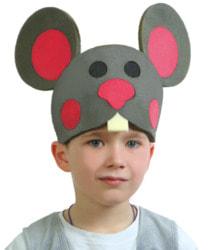 Фото Карнавальная маска Мышка на резинке