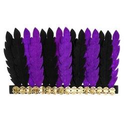 Фото Карнавальный головной убор перья