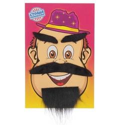 Фото Борода с усами и бровями пирата