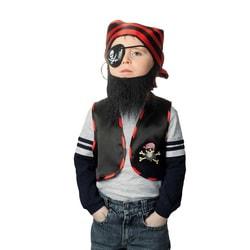 Фото Карнавальный набор Черная борода детский