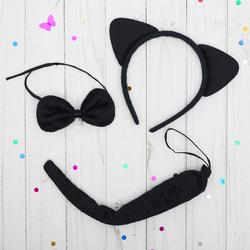 Фото Карнавальный набор Кошечка черный