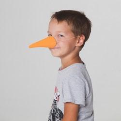 Фото Нос Морковка оранжевый