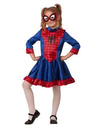 Фото Костюм Человек-паук для девочки детский