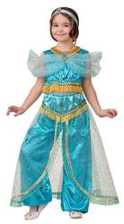 Фото Костюм Принцесса Жасмин принт детский