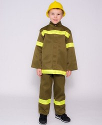 Фото Костюм Пожарный детский