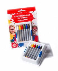 Фото Карандаши гримировальные детские 6 цветов Классики