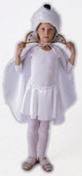 Фото Шапочка Шахматная королева белая детская