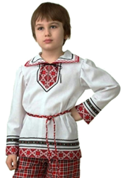 Фото Рубашка вышиванка детская